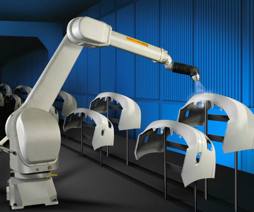 ROBOTIC SPRAY PAINTING